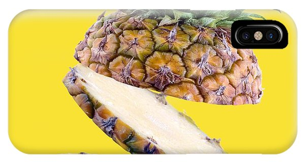 Pineapple iPhone Case - Sliced Pineapple by Victor Habbick Visions