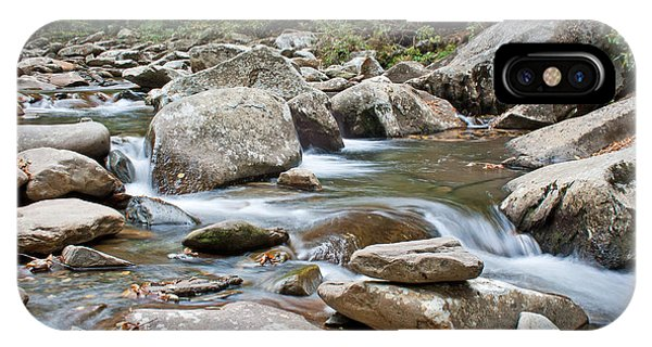 Smoky Mountain Streams IPhone Case