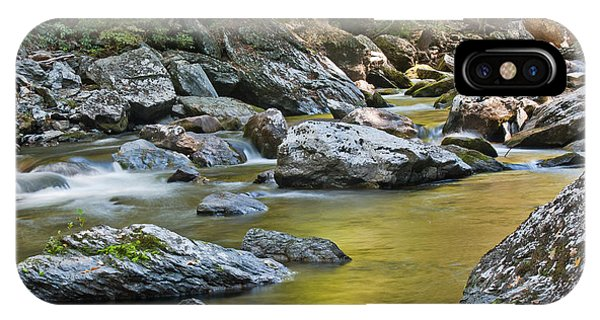 Smoky Mountain Streams II IPhone Case