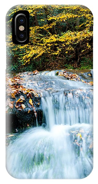 Smoky Mountain Waterfall IPhone Case