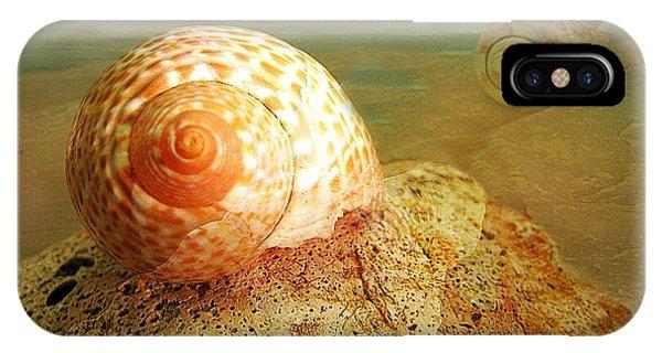 Snailing Around IPhone Case
