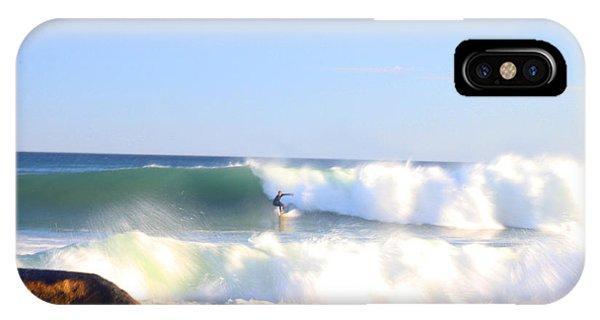 Snake Hole Surfer IPhone Case