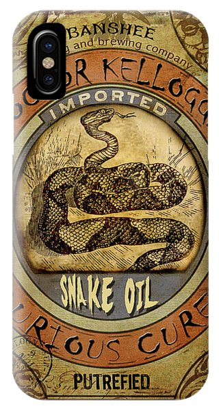Snake Oil IPhone Case