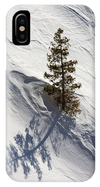 Snow Shadow IPhone Case
