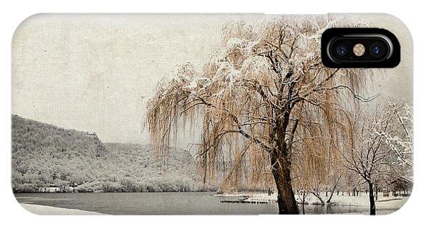 Snow Tree 1 IPhone Case