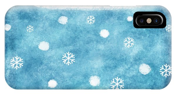 Christmas iPhone Case - Snow Winter by Setsiri Silapasuwanchai