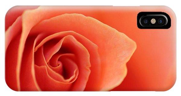 Soft Rose Petals IPhone Case