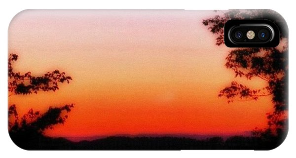Edit iPhone Case - Soft Sunset In The Smokies by Mari Posa