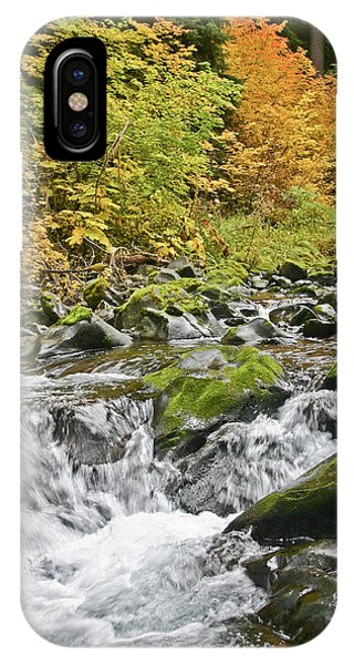Sol Duc Fall IPhone Case