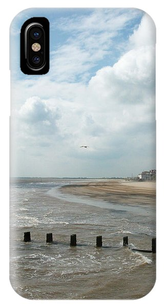 Solitary Seagull IPhone Case