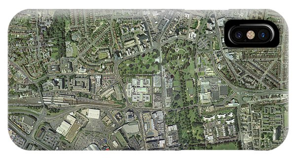 Southampton,uk, Aerial Image Phone Case by Getmapping Plc