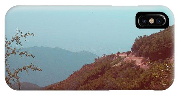 Sierra Nevada iPhone Case - Southern California Mountains by Naxart Studio