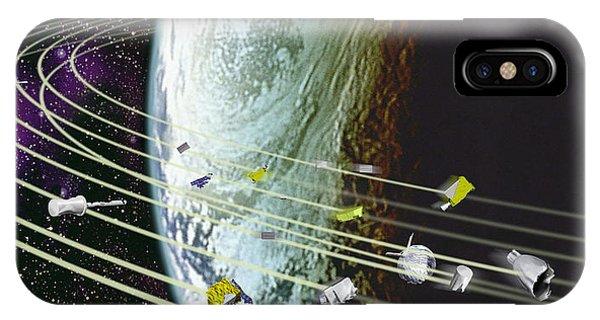 Space Debris Phone Case by David Ducros