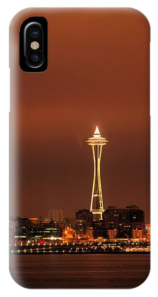 Space Needle Morning IPhone Case