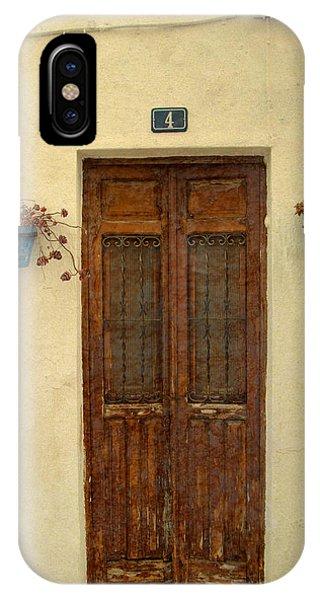 Spanish Doorstep Phone Case by Perry Van Munster