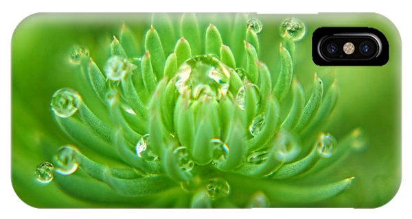 Sparkling Diamond Dewdrops IPhone Case