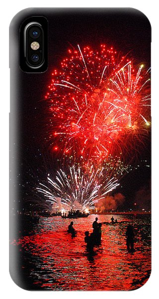 Sparks On The Sea Phone Case by Perry Van Munster