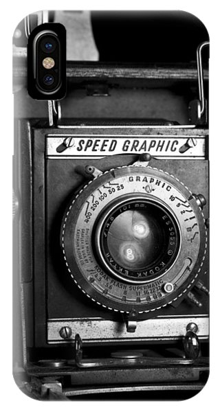 Speed Graphic IPhone Case