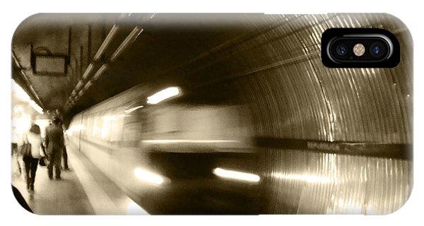 Speeding Train IPhone Case