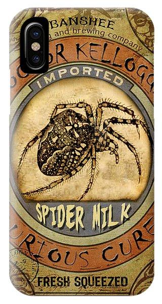 Spider Milk IPhone Case