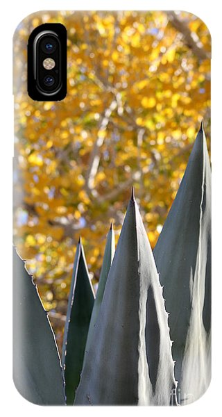 Spikes And Leaves IPhone Case