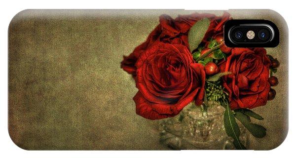 Bouquet iPhone X Case - Splendor by Evelina Kremsdorf