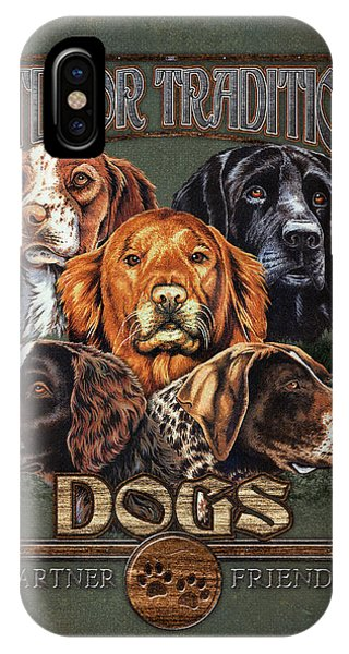 Retriever iPhone Case - Sporting Dog Traditions by JQ Licensing