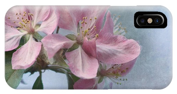 Spring Blossoms For The Cure IPhone Case