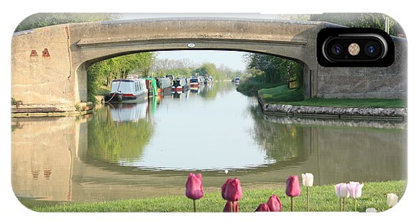 Spring On The Oxford Canal IPhone Case