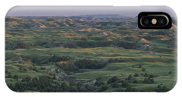North Dakota Badlands iPhone Case - Spring View Of The Badlands Of Painted by Michael Melford