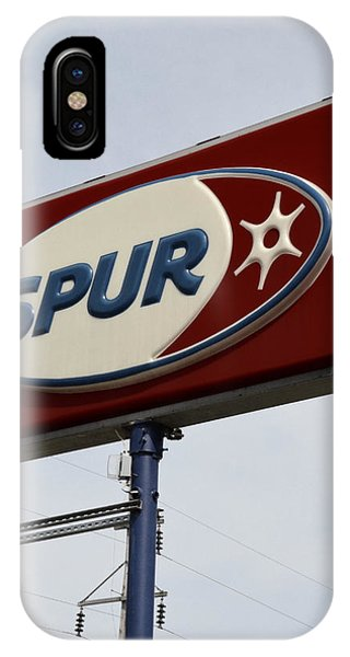 Spur Station In The U.p. IPhone Case