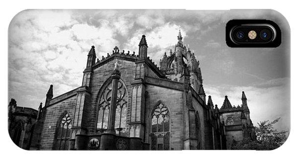 St Giles Cathedral Edinburgh IPhone Case