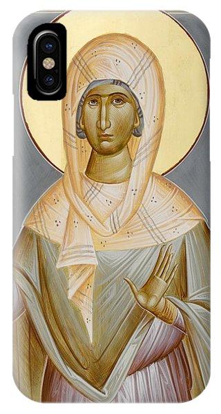 St Kyriaki Phone Case by Julia Bridget Hayes