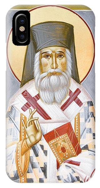 St Nektarios Phone Case by Julia Bridget Hayes