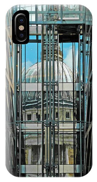 St Pauls Compressed IPhone Case