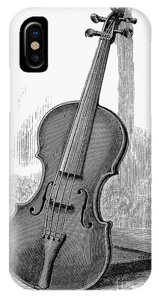 Violin iPhone X / XS Case - Stainer Violin by Granger