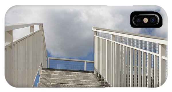 Stairs And Clouds Phone Case by Jaak Nilson