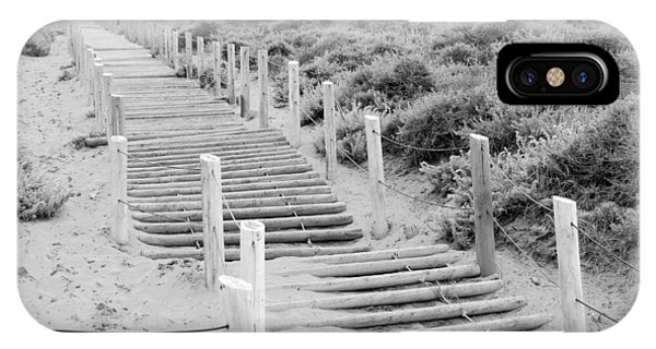 Stairs At Baker Beach IPhone Case