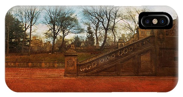 Stairway In Central Park IPhone Case