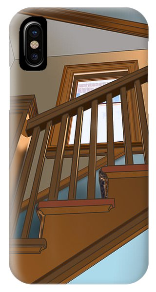 Stairway To 2nd Floor IPhone Case