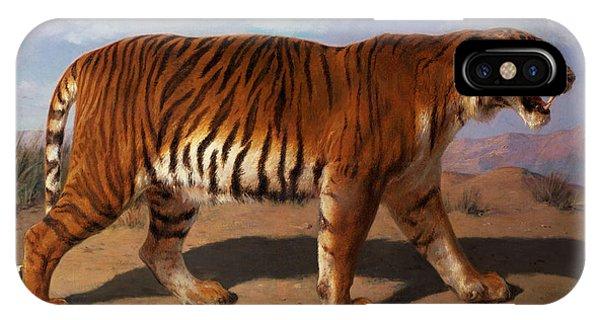 Stalking Tiger IPhone Case