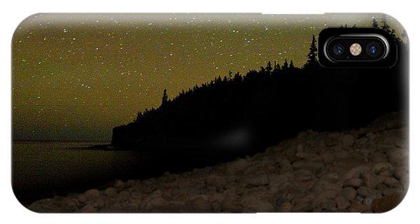 Stars Over Otter Cliffs IPhone Case