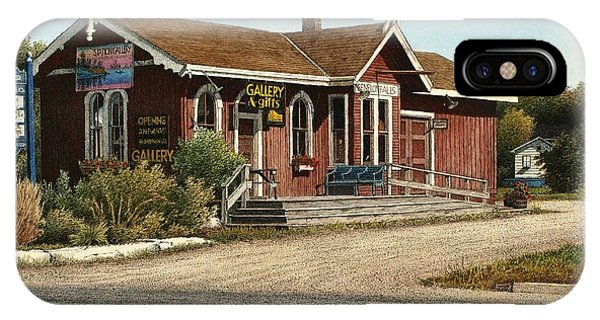 Station Gallery Fenelon Falls IPhone Case