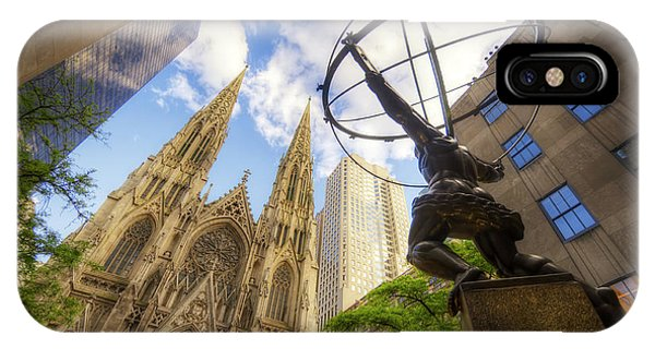 Statue And Spires IPhone Case