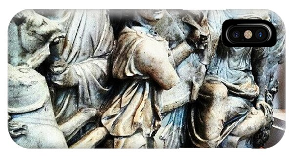 (#statues #ancientgreece #nude #art IPhone Case