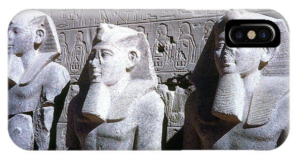 Statues Of Ramses II IPhone Case