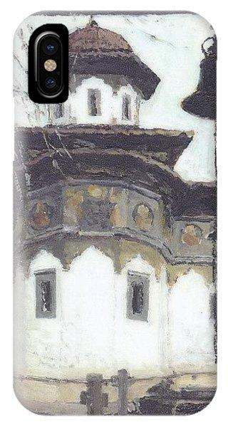Stavropoleos Church IPhone Case