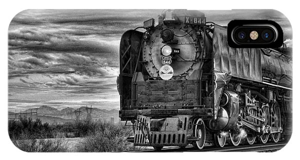 Steam Train No 844 - Iv IPhone Case