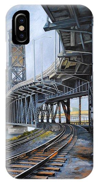 Steel Bridge 2012 IPhone Case