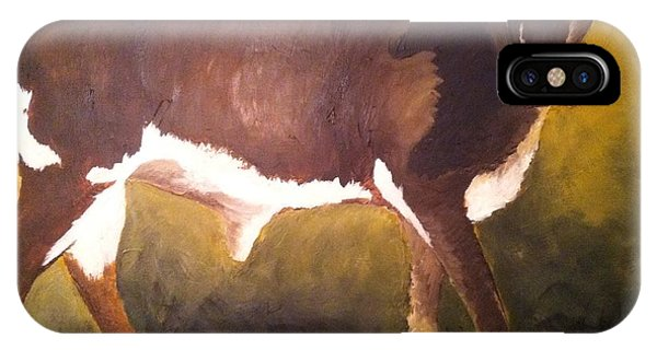 Steer Calf IPhone Case